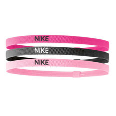 Nike Elastic Hairbands 3 Pack, , rebel_hi-res