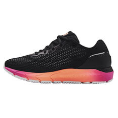 Under Armour HOVR Sonic 4 Colourshift Womens Running Shoes Black/Orange US 6, Black/Orange, rebel_hi-res