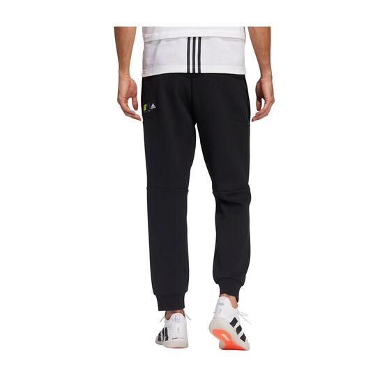 adidas Mens ID Doubleknit Pants, Black, rebel_hi-res