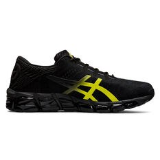 Asics GEL Quantum 360 5 Jacquard Mens Running Shoes Black / Yellow US 7, Black / Yellow, rebel_hi-res