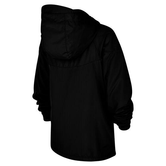 Nike Sportswear Boys Windrunner Jacket, Black/White, rebel_hi-res