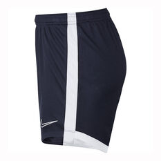 Nike Womens Dri-FIT Academy Training Shorts Navy XS, Navy, rebel_hi-res