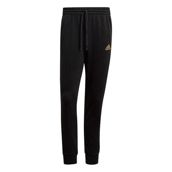 adidas Mens Essential Camo Pants, Black, rebel_hi-res