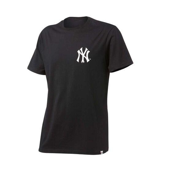 Majestic Mens Yankees Madison Tee, Black, rebel_hi-res