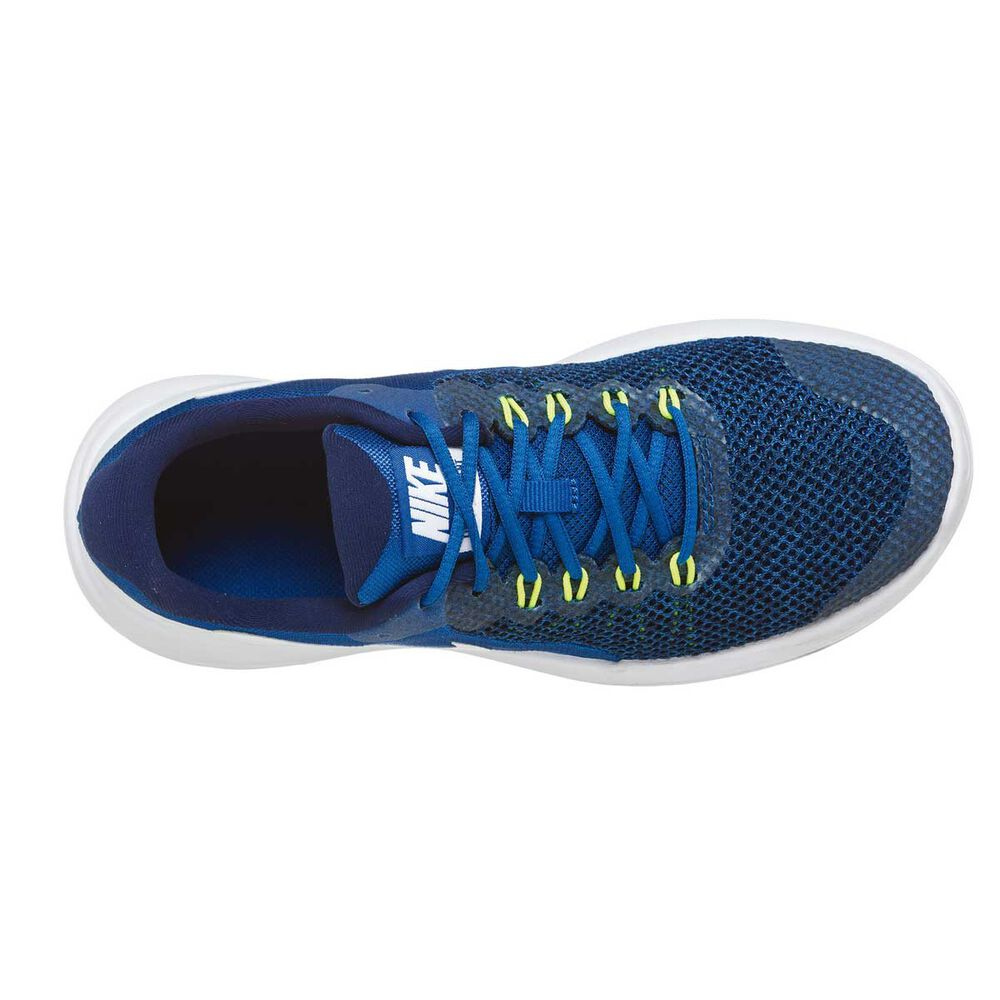 d53e007f7ba7 Nike Lunar Apparent Boys Running Shoes Blue   White US 4