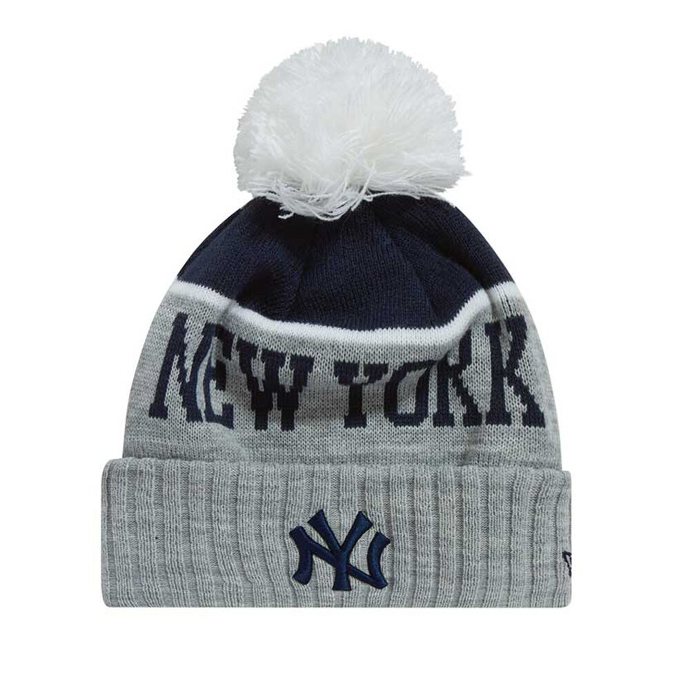 fa11a58a5ea New York Yankees New Era Heather Dip Beanie