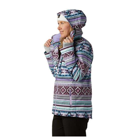 Rojo Womens Cruiser Ski Jacket, Print, rebel_hi-res