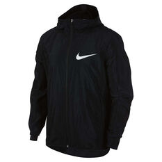 Nike Mens Showtime Basketball Jacket Black S, Black, rebel_hi-res