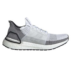 adidas Ultraboost 19 Womens Running Shoes White / Grey US 5, White / Grey, rebel_hi-res