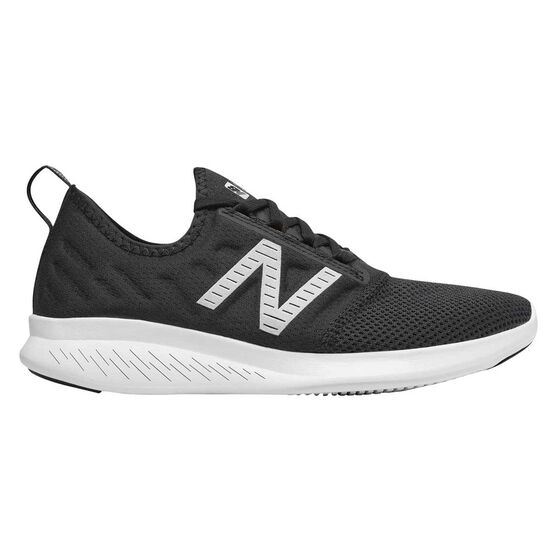 New Balance FuelCore Coast v4 Womens Running Shoes, Black, rebel_hi-res