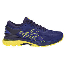 Asics GEL Kayano 25 Kids Running Shoes Blue / Yellow US 4, Blue / Yellow, rebel_hi-res