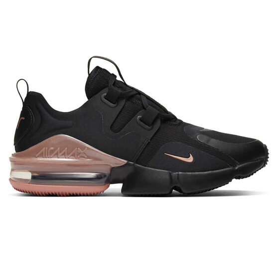 Nike Air Max Infinity Womens Casual Shoes Black / Red US 7, Black / Red, rebel_hi-res