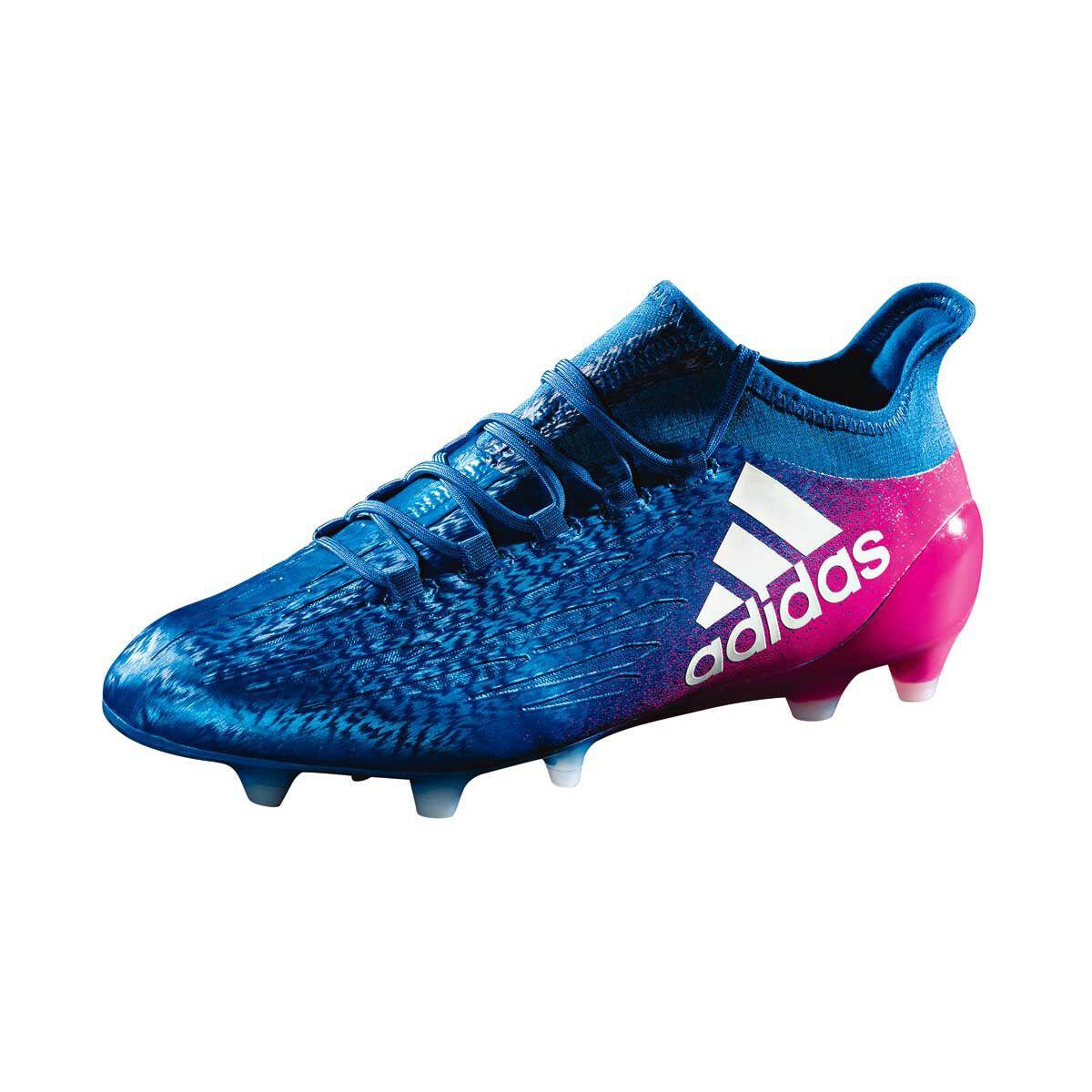 42eeb2a70b94 ... cleats 13303 129cf  sweden adidas x16.1 mens football boots blue white  us 11 adult blue 66e4a e8dba