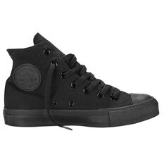 Converse Chuck Taylor All Star Hi Top Casual Shoes Black / Black US Mens 11 / Womens 13, Black / Black, rebel_hi-res