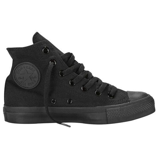 Converse Chuck Taylor All Star Hi Top Casual Shoes, Black / Black, rebel_hi-res