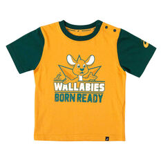 Wallabies 2018 Infants Born Ready Tee, , rebel_hi-res