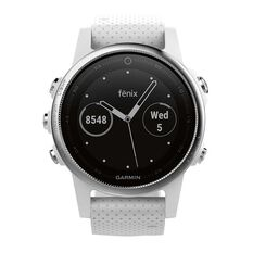 Garmin Fenix 5S GPS Heart Rate Watch White / Carrara White, , rebel_hi-res