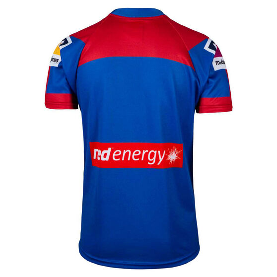 Newcastle Knights 2020 Mens Home Jersey, Blue/Red, rebel_hi-res