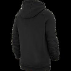 Nike Mens Jordan Jumpman Logo Fleece Pullover Hoodie Black S, Black, rebel_hi-res