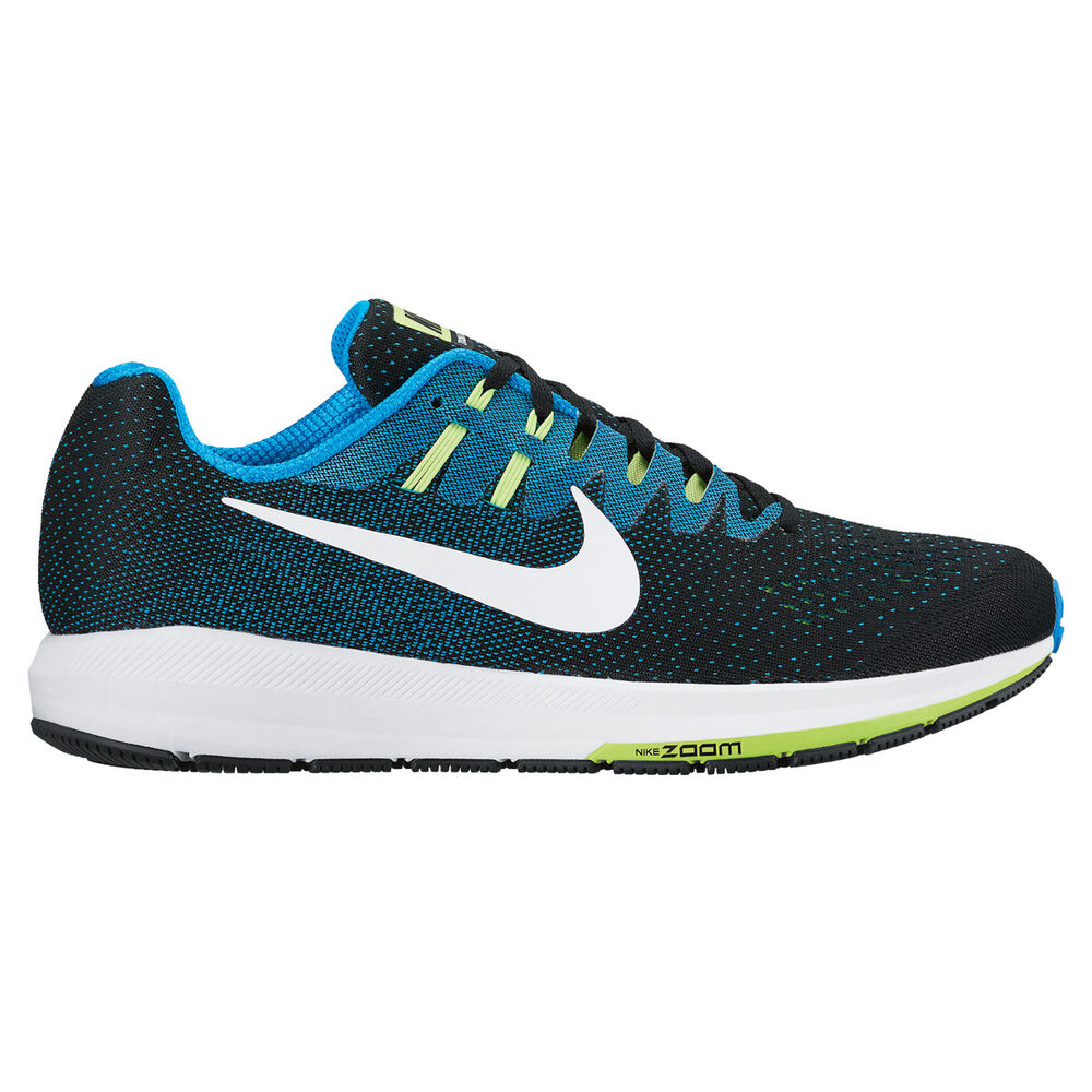 0e6b1e6c040 Nike Air Zoom Structure 20 Mens Running Shoes Black   Blue US 8 ...