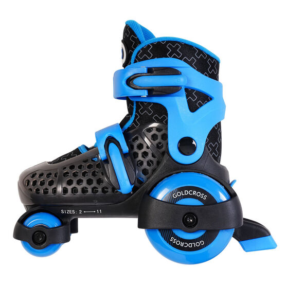 Goldcross GXC145 Inline Skates, Blue, rebel_hi-res