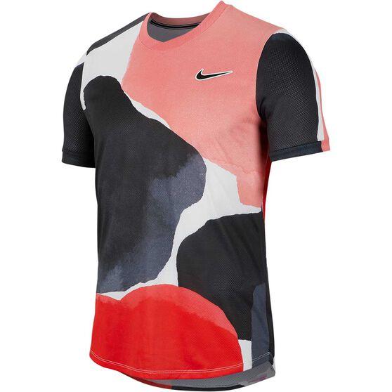 Nike Court Mens Challenger Tennis Tee, , rebel_hi-res