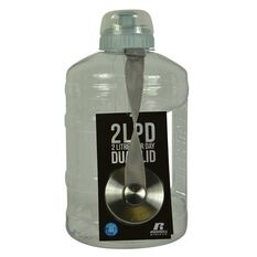 Russell Athletics 2L PD Dual Cap Water Bottle 2200ml Clear, , rebel_hi-res