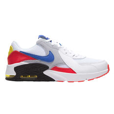 Nike Air Max Excee Kids Casual Shoes White/Red US 4, White/Red, rebel_hi-res