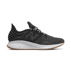 New Balance Fresh Foam Roav Mens Running Shoes Black US 7, Black, rebel_hi-res