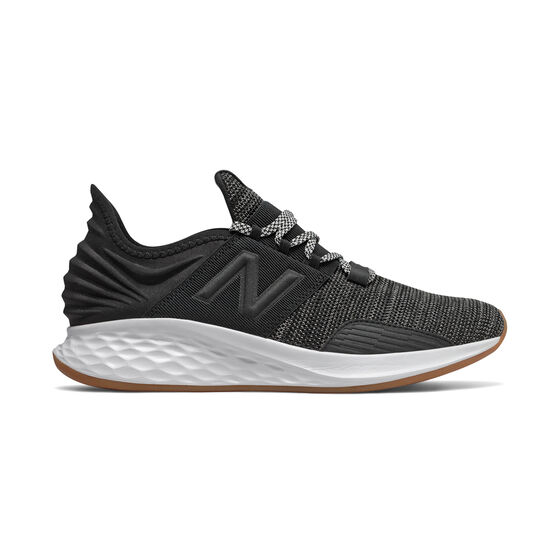 New Balance Fresh Foam Roav Mens Running Shoes, Black, rebel_hi-res