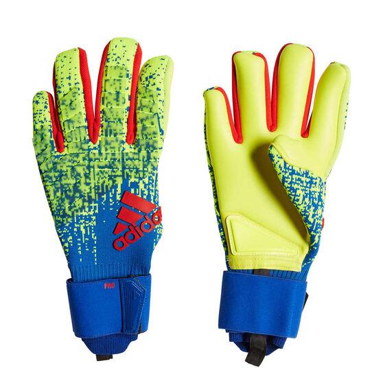 b0f2f164d adidas Predator Pro Goalkeeper Gloves Yellow / Blue 11, Yellow / Blue,  rebel_hi-
