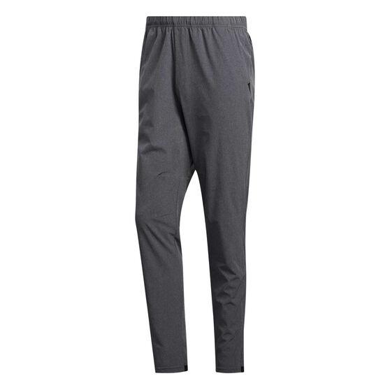 adidas Mens City Base Woven Track Pants Grey M, Grey, rebel_hi-res