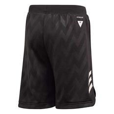 adidas Boys XFG Shorts Black 6, Black, rebel_hi-res