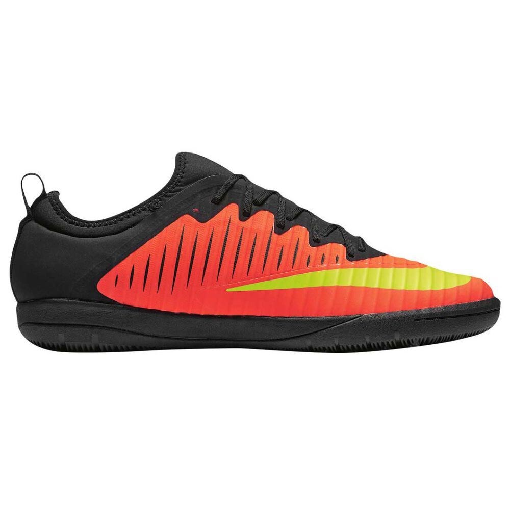 5fcf7aa61db Nike MercurialX Finale II Mens Indoor Soccer Shoes Crimson   Volt US 8.5  Adult
