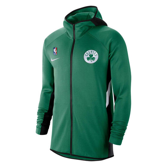 Boston Celtics Mens Therma Flex Showtime Hoodie, Green, rebel_hi-res