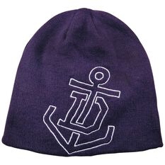 Fremantle Dockers Reversible AFL Beanie OSFA, , rebel_hi-res