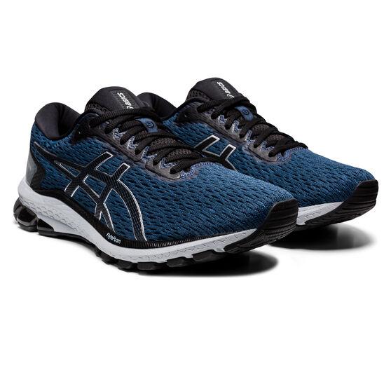 Asics GT 1000 9 Mens Running Shoes, Blue/Black, rebel_hi-res