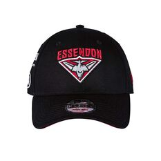 Essendon Bombers 2018 New Era 9Forty Media Cap OSFA, , rebel_hi-res
