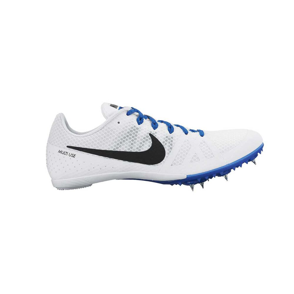 new product 9441b 19ced Nike Zoom Rival M 8 Mens Track Spikes White   Black US 4, White
