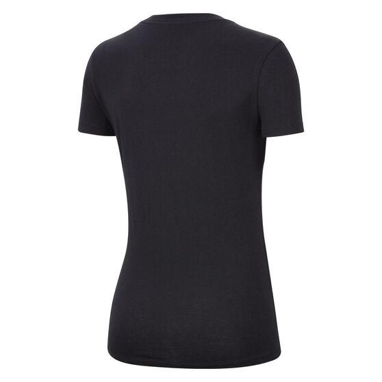 Nike Womens Sportswear Tee Black L, Black, rebel_hi-res