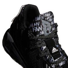 adidas Dame 7 Kids Basketball Shoes, Black, rebel_hi-res