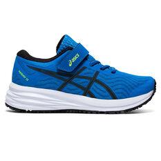 Asics Patriot 12 Kids Running Shoes Blue US 11, Blue, rebel_hi-res