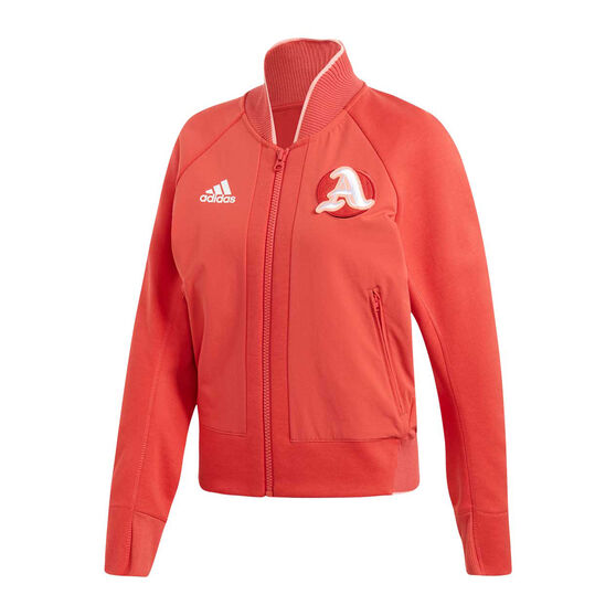 adidas Womens VRCT Jacket, Red, rebel_hi-res