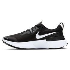Nike React Miler Mens Running Shoes Black/White US 7, Black/White, rebel_hi-res