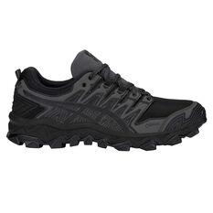 Asics Gel Fuji Trabuco 7 G TX Mens Trail Running Shoes Black / Grey US 7, Black / Grey, rebel_hi-res