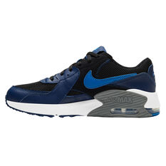 Nike Air Max Excee Kids Casual Shoes Black/Blue US 4, Black/Blue, rebel_hi-res