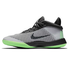 release date: b89bd 6436a ... Nike Future Flight Kids Basketball Shoes Grey   Black US 1, Grey    Black,