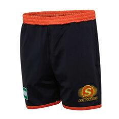 Perth Scorchers 2019/20 Mens Training Shorts Black M, Black, rebel_hi-res