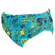 Zoggs Deep Sea Adjustable Swim Nappy, , rebel_hi-res