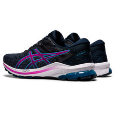 Asics GT 1000 10 D Womens Running Shoes, Blue/Purple, rebel_hi-res